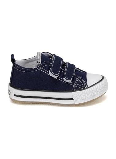 Vicco Vicco Bebe Işıklı Keten Ayakkabı Çocuk  Lacivert